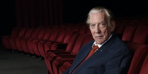 Donald Sutherland's acting subtlety is not what attracts Oscars.