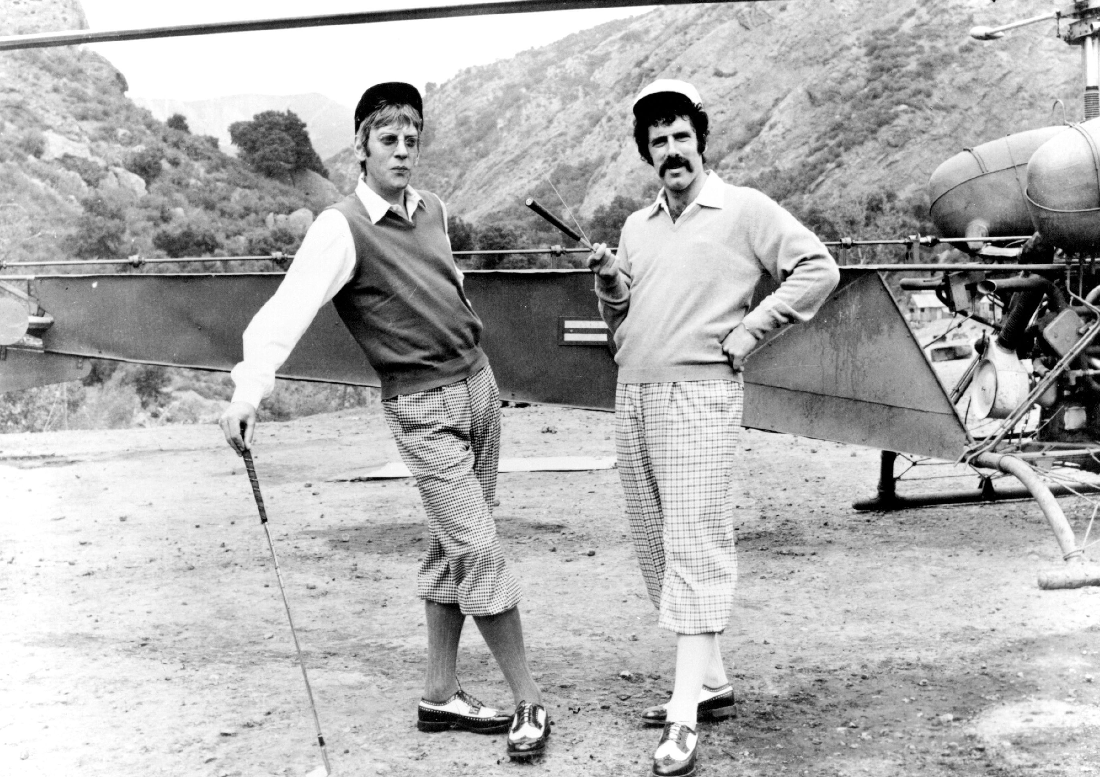 Donald Sutherland and Elliot Gould in 'M*A*S*H.'