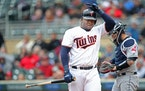Miguel Sano has eight hits and 29 strikeouts this season.