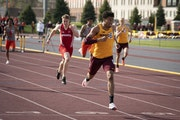 The Gophers' Noah Burton has the Big Ten's fourth fastest time in the 400-meter hurdles.