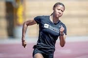 Gophers junior sprinter Amira Young