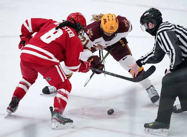 The Gophers and reigning NCAA champion Wisconsin face off Dec. 3-4 in Madison and Jan. 21-22 at Ridder Arena