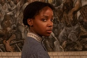 "Thuso Mbedu in ""The Underground Railroad."""