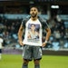 striker Ramon Abila pulled up his jersey to display a T-shirt honoring his brother Gaston, who suffered from depression and committed suicide last yea