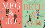 """""""Meg & Jo"""" and """"Beth & Amy"""" by Virginia Kantra successfully retell """"Little Women"""" in a modern setting."""