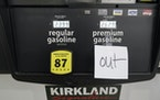 A note posted at a gas pump in Ridgeland, Miss., on Tuesday, May 11, 2021. State officials warned that any shortages seen at individual gas stations w