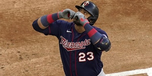Nelson Cruz has had a strong year for the Twins, but it hasn't been enough to help them win.