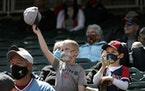 The Twins will no longer require fans to wear masks at Target Field while increasing attendance to over 23,000 starting tonight.