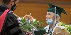 Hannah Hayano Semba Hannah Hayano Semba, 95, long of Minneapolis, just received her high school diploma at her alma mater, Mount Vernon High in Washin
