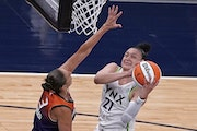 Guard Kayla McBride scored 17 points and had six rebounds in her Lynx debut.