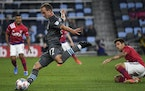 Minnesota United defender Chase Gasper shined in dual roles, complementing the attack and shutting down the wings.