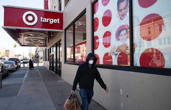 Target is no longer requiring masks in stores where the municipality does not require them.