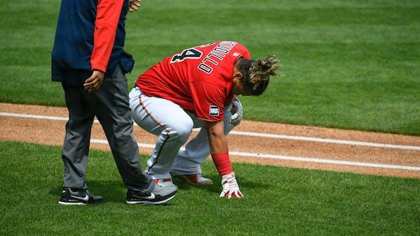Kepler, Astudillo injured during loss to Oakland; Maeda also hurting
