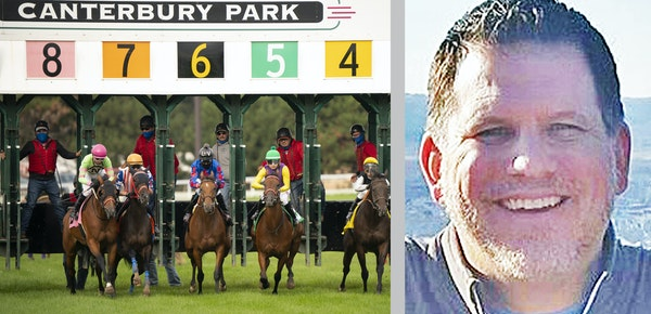 Jay Lietzau, right, is the Star Tribune's new Canterbury Park handicapper.
