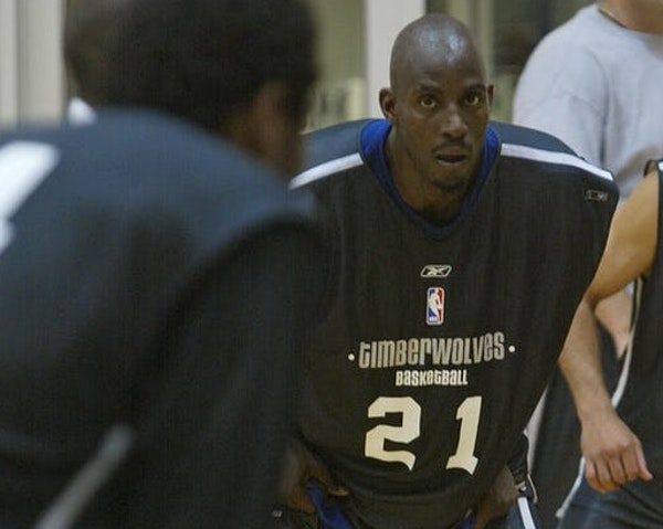 Noon-hour basketball with U coach Johnson and KG 'was like NBA Finals Game 7'