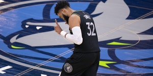 Karl-Anthony Towns has had only one winning season of his six with the Wolves, but the 25-year-old center sees hope for the future based on how the te