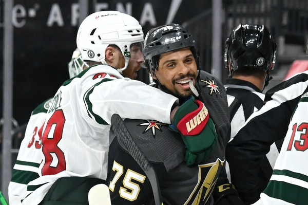Wild ready for more physical play, even if number of hits feels high
