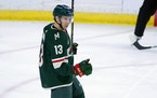 Minnesota Wild center Nick Bonino