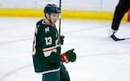 Minnesota Wild center Nick Bonino