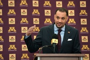 New Gopher men's basketball coach Ben Johnson introduced in March