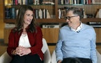Bill and Melinda Gates in 2019. The couple announced this month that they had decided to divorce following 27 years of marriage.