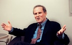 "FILE — Charles Grodin during an interview in New York circa 2000. Grodin, the versatile actor familiar from ""Same Time, Next Year"" on Broadway,"