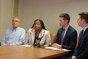 FILE-Former Denfeld High School Principal Tonya Sconiers and the Duluth school board have agreed to settle a federal lawsuit she brought in 2019.