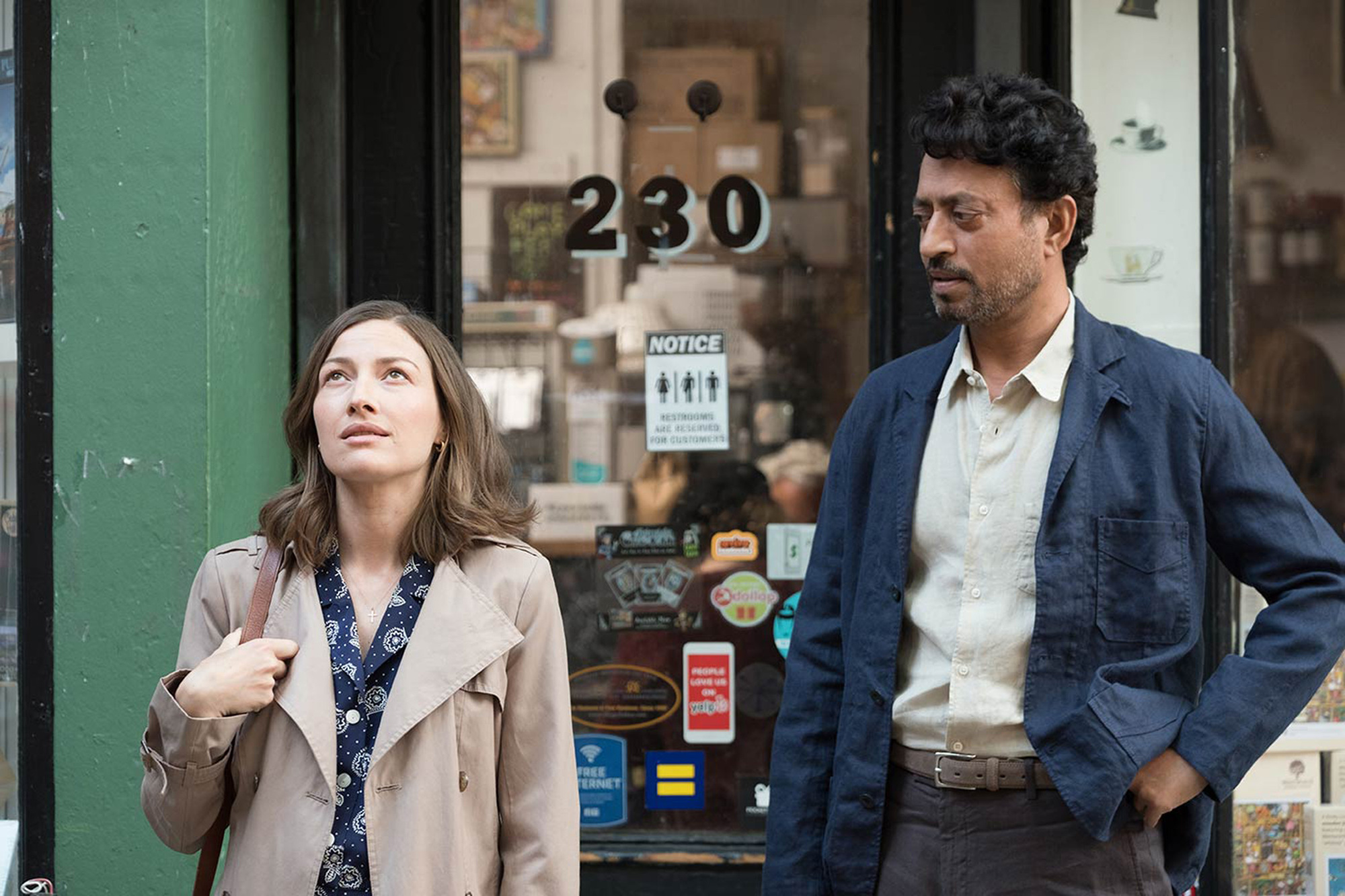 Kelly Macdonald and Irrfan Khan star as partners in jigsaw puzzle competitions in 'Puzzle.'