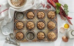 Add new recipes to your rhubarb repertoire, including these Rhubarb Graham Muffins.