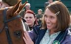 "Toni Collette plays Jan Vokes in ""Dream Horse."""