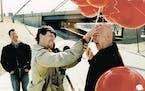 Director Philip Harder and Baron von Raschke. Photo by Andy Grund