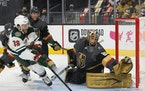 Marc-Andre Fleury is expected back in net for Game 3 between the Wild and Golden Knights.