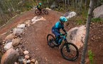 The Redhead trail system in Chisholm opened in 2020.