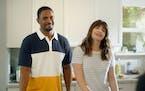 "Doug (Damon Wayans, Jr.) and Rachel (Casey Wilson) in ""Long Weekend."""