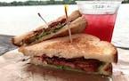 Rick Nelson • Star Tribune BLT Sandwich from Sandcastle.
