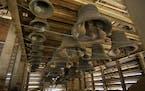 The carillon comprises 56 bronze bells.