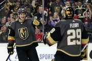 Nick Holden and Marc-Andre Fleury are two big reasons the Vegas Golden Knights have a lead in their playoff series with the Wild.