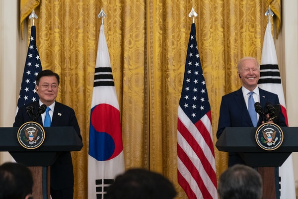 Biden coy on nuclear discussions with North Korea