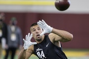 Shane Zylstra, who last played in 2019 for Minnesota State Mankato, turned his U of M pro day workout into a free-agent contract with the Vikings.