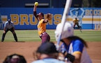 Gophers pitcher Autumn Pease gave up two runs on seven hits in seven innings with seven strikeouts, but the Gophers lost 2-1 to UCLA in the NCAA regio