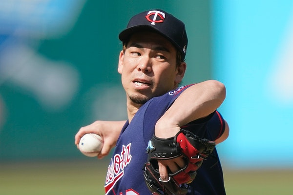Twins pitcher Maeda goes on the injured list
