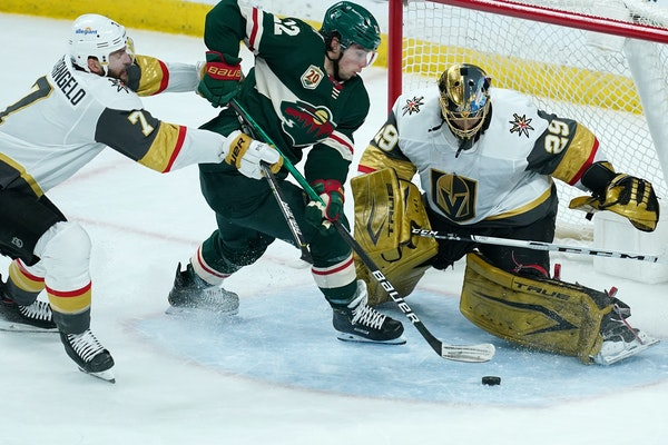 Scoring futility puts Wild one loss from season's end tonight in Vegas