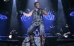 Rammstein lead singer Till Lindemann/ AP Photo