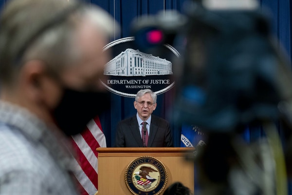 U.S. Attorney General Merrick Garland spoke about the jury's verdict in the case against former officer Derek Chauvin in the death of George Floyd,