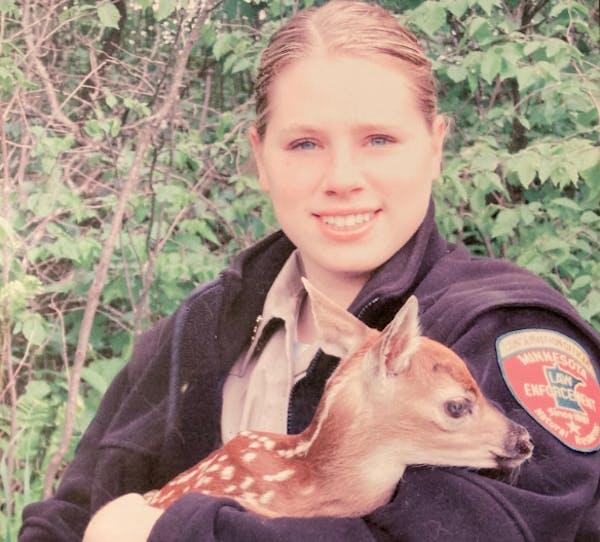 DNR officer Sarah Grell