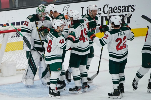 Podcast: Wild's big win. Hear from Parise, Evason and thrilled fans.