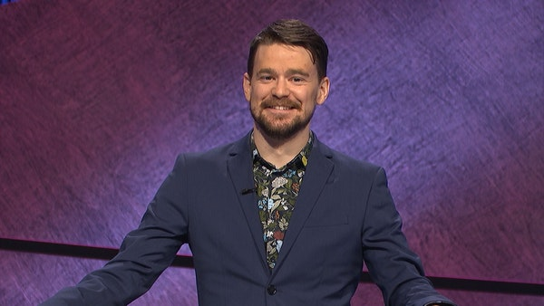 """Minneapolis teacher Sam Kavanaugh competed in the Tournament of Champions on TV's """"Jeopardy!"""""""