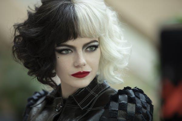 """Emma Stone as Cruella in Disney's live-action """"Cruella."""""""