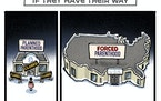 Sack cartoon: Parenthood in America