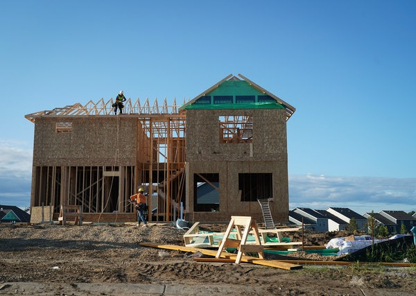 Homebuilders had a much busier May than a year ago when a government shutdown temporarily upended the housing market.